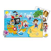 Гра з наліпками «Пірати», фото 1