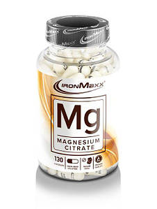 Минералы IronMaxx Mg-Magnesium Citrate 130 caps
