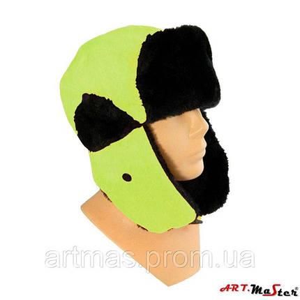 Зимняя шапка ARTMAS желтого цветаCzU FlashCap Y, фото 2
