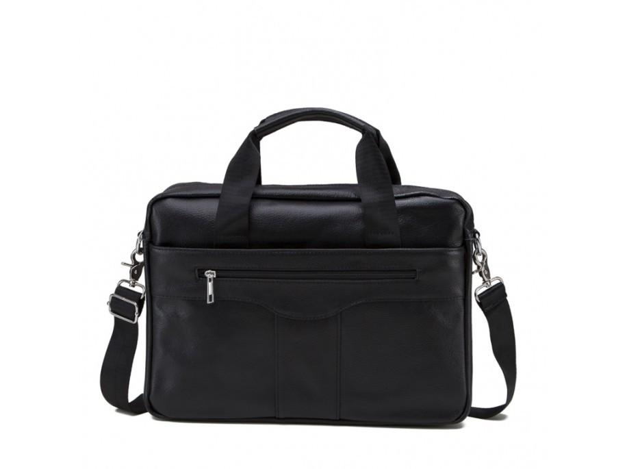 Мужская сумка. Сумка-портфель из натуральной кожи, черного цвета. ТОП КАЧЕСТВО!!!