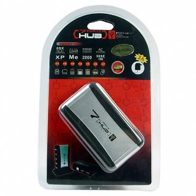 USB хаб 2.0 (концентратер адаптор) на 7 портов