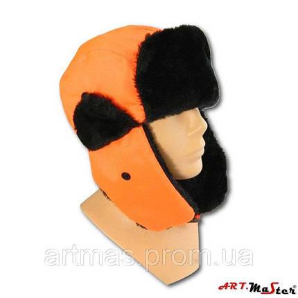 Зимняя шапка ARTMAS оранжевого цветаCzU FlashCap O, фото 2