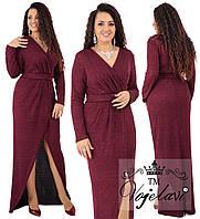 """Длинное платье в пол больших размеров """" Фукра """" Dress Code, фото 1"""