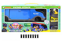 Машина с героями Щенячий Патруль 553-144, трейлер, гараж
