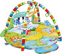Развивающий коврик-пианино для малышей (ЗЕЛЕНЫЙ) арт. 0610