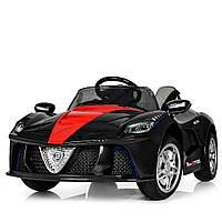 Детский электромобиль Ferrari, M 3851 EBLRS-2 черный с автопокраской
