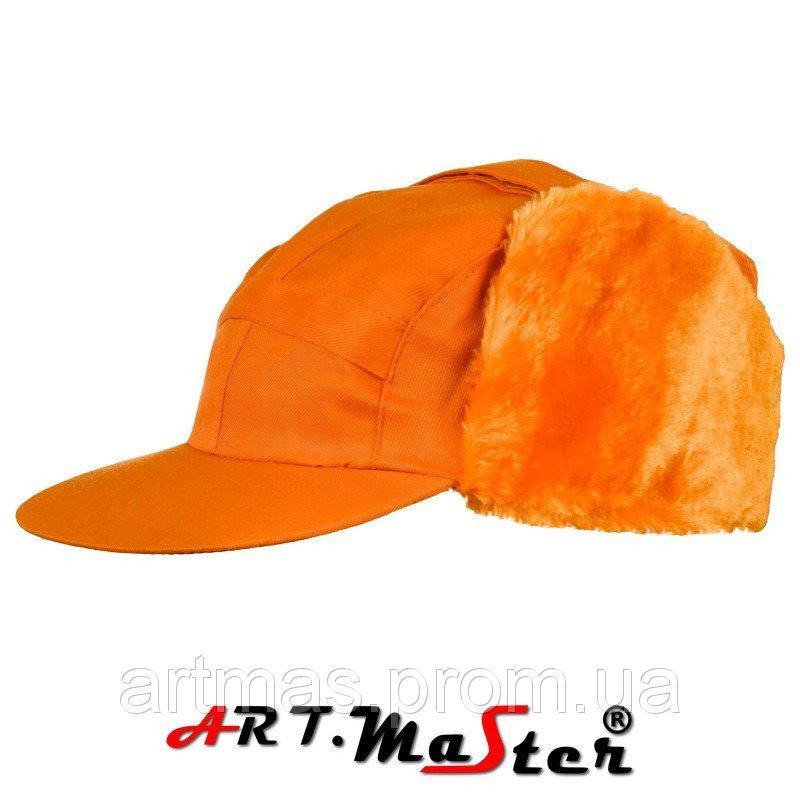 Шапка зимняя ARTMAS оранжевого цвета CZU - pomarańczowa