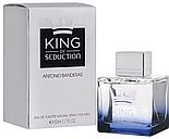 Antonio Banderas KING of Seduction Men EDT 100 ml туалетна вода чоловіча (оригінал оригінал Іспанія), фото 3