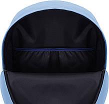 Рюкзак Bagland Молодежный W/R 17 л. голубой 442 (00533662), фото 3