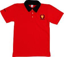 Поло ValeriTex 188520131012 128 см Красный, КОД: 263437