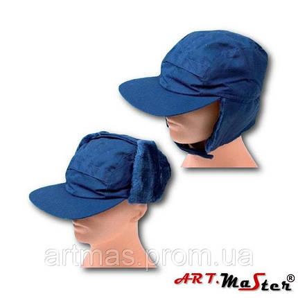 Шапка зимняя ARTMAS синего цвета CZU - niebieska, фото 2