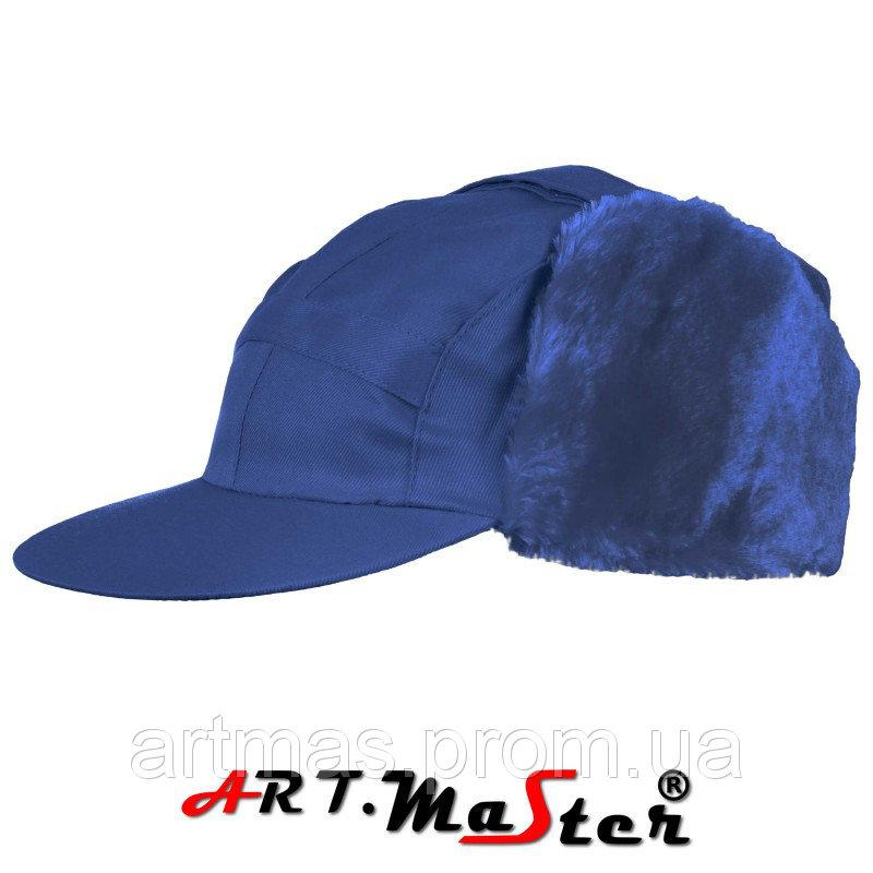 Шапка зимняя ARTMAS синего цвета CZU - niebieska