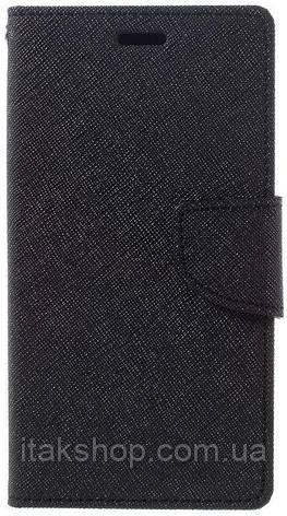 Чехол-книжка TOTO Book Cover Mercury Xiaomi Redmi Note 3 Black, фото 2