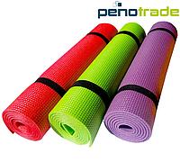 Коврик (каремат) для йоги  фитнеса Джуниор 5 (1500x600x5)