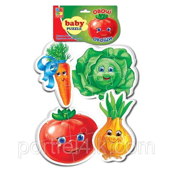 Baby Puzzle «Овощи»