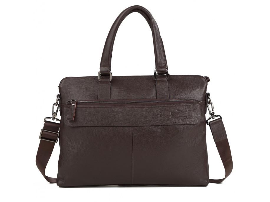 Мужская сумка. Сумка-портфель из натуральной кожи, коричневого цвета. ТОП КАЧЕСТВО!!!