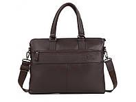 Мужская сумка. Сумка-портфель из натуральной кожи, коричневого цвета. ТОП КАЧЕСТВО!!!, фото 1