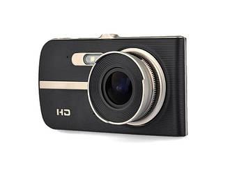 Видеорегистратор Noisy DVR T653 Full HD с выносной камерой заднего вида Черный, фото 2