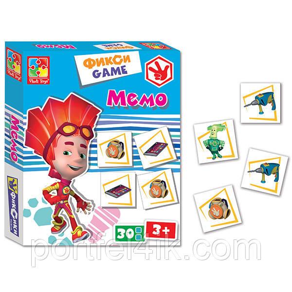 Фикси-игра Мемо