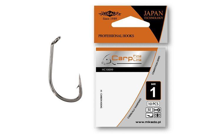 Крючок Mikado Carp Fine Line HC10099 10 шт
