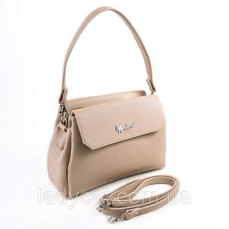 353f7e87afb7 Женская сумка на длинном ремешке М126-66 -