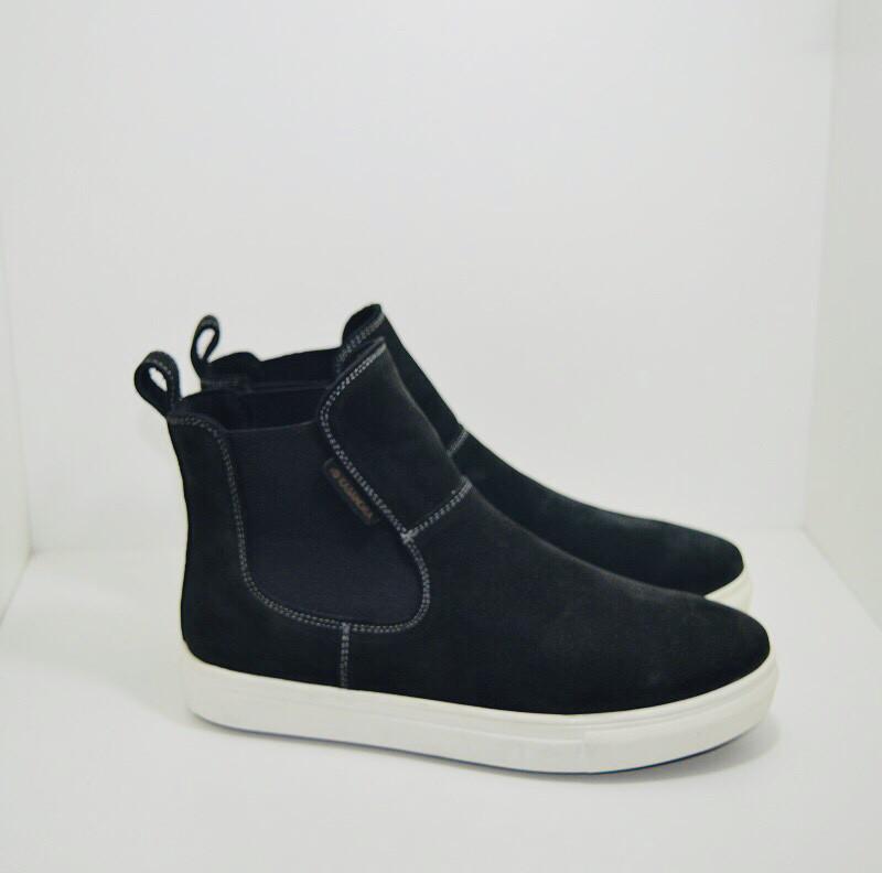 Ботинки Kasandra 225/1 39 Нубук/Черный