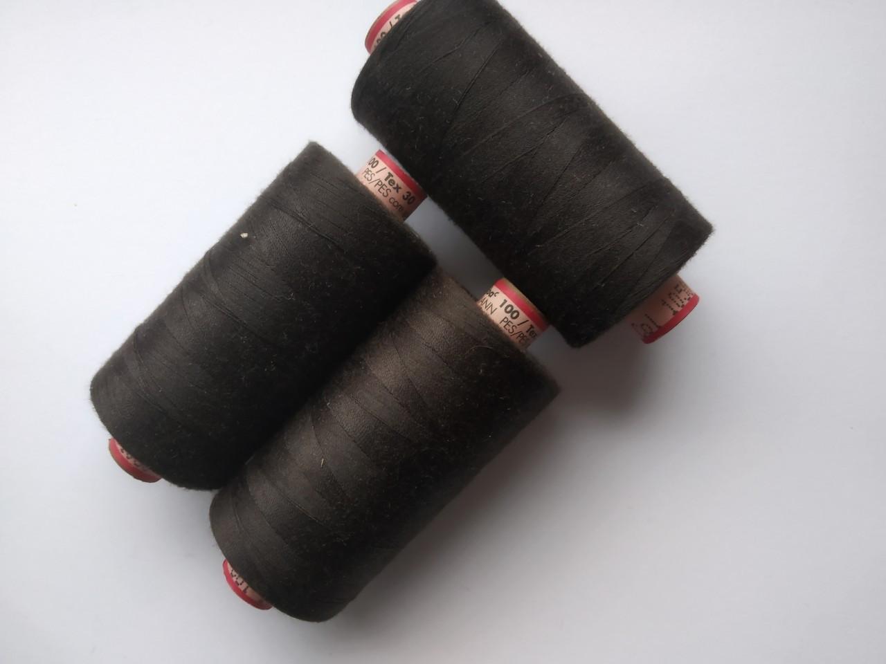Нитки Amann saba 1050 / 100 /1000м коричневий
