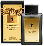 Antonio Banderas Golden Secret EDT 100 ml TESTER  туалетная вода мужская (оригинал подлинник  Испания), фото 3