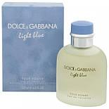 Dolce & Gabbana LIGHT BLUE Pour Homme EDT 40 ml туалетная вода мужская (оригинал подлинник  Великобритания), фото 3