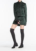 Пиджак aLOT стеганный 40 Зеленый, КОД: 266273