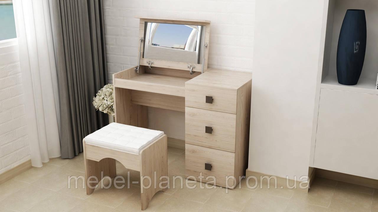 """Туалетный столик с зеркалом """"Трюмо-2"""" Лион"""