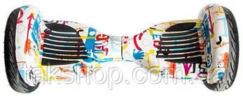 """Гироборд Smart Balance Wheel U8 10"""" Hip-Hop White, фото 2"""