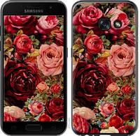 """Чехол на Samsung Galaxy A3 (2017) Цветущие розы """"2701c-443-387"""""""