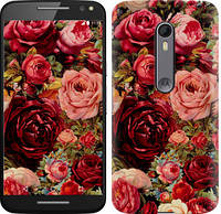 "Чехол на Motorola Moto X Style Цветущие розы ""2701c-455-387"""