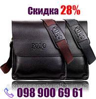 Мужская сумка Polo Videng через плечо   2 цвета