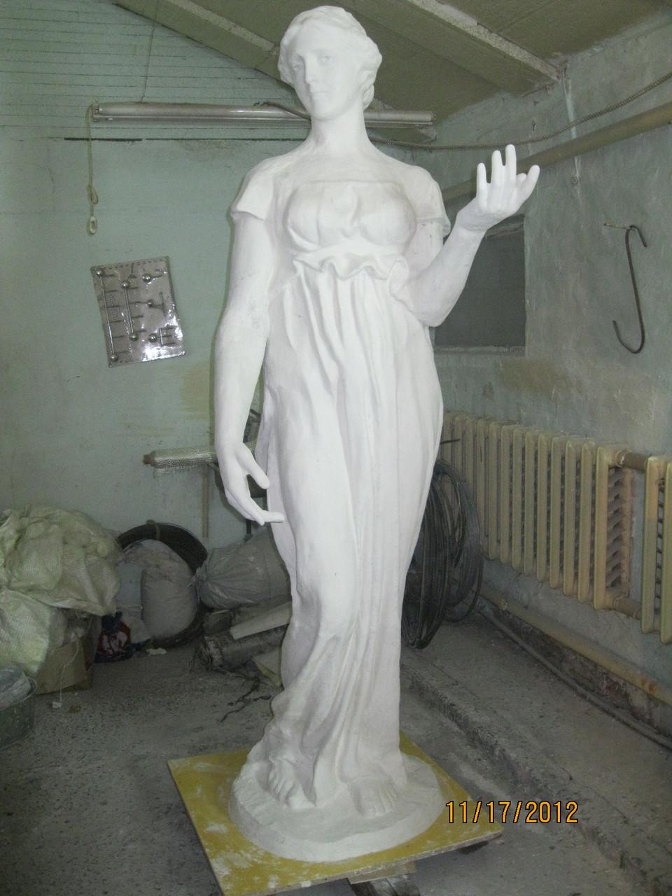 скульптура из фибробетона технология изготовления