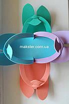 Одноразовые тапочки-вьетнамки Colorful для саун, гостиниц, салонов, бань, фото 3