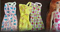 Набор 3 платья для куклы Барби