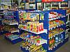 Новые стеллажи торговые для АЗС с полками. Стеллаж в магазин с полками WIKO (ВИКО)