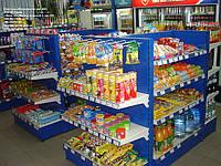 Новые стеллажи торговые для АЗС с полками. Стеллаж в магазин с полками WIKO (ВИКО), фото 1