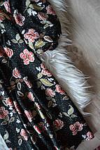 Цветочное платье с поясом New Look, фото 3