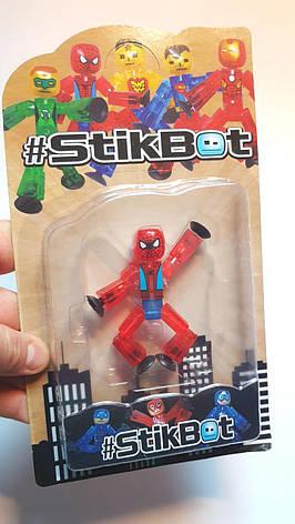 """Стикбот СпайдерМен Stik Bot """"JL18370"""" Супергерої, фото 2"""