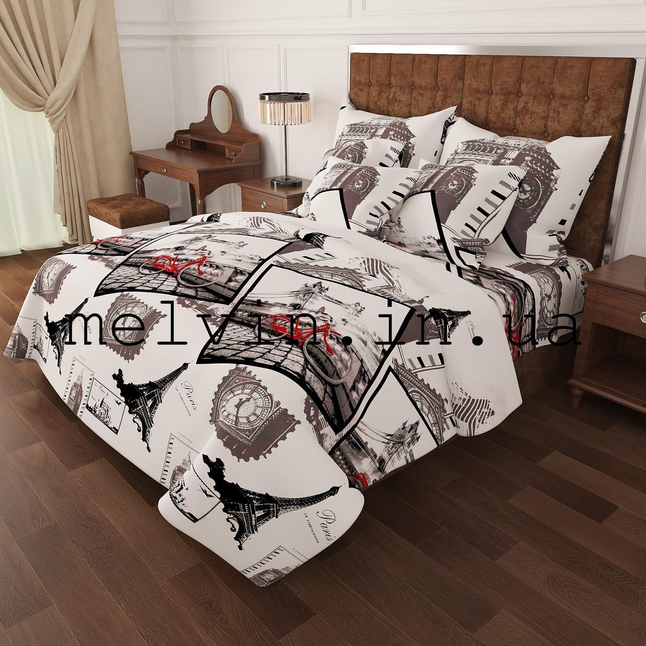 5fc343b606aa Комплект постельного белья бязь евро КАЧЕСТВО ЛЮКС Paris: продажа ...