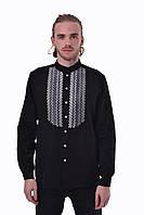 Вышитая мужская сорочка 2KOLYORY quotШепітquot XXL Черный, КОД: 276412