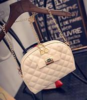 Женская маленькая сумочка клатч Бежевый, фото 1