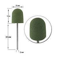 Полировщик силиконовый  Зеленая груша большая