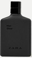 ZARA Man Silver EDT 100 ml TESTER  туалетная вода мужская (оригинал подлинник  Испания)
