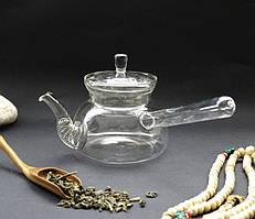 Чайник стекло + сито пружина 500мл.