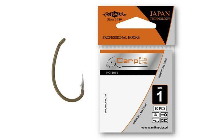 Крючок Mikado Carp Fine Line HC11064 OL 10 шт