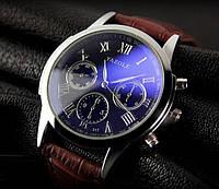Модные мужские часы Yazole Черный